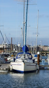 Rainbow moored Gosport 4