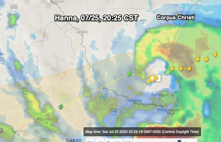 Hanna, Satellite, 20-25, 07:25:2020
